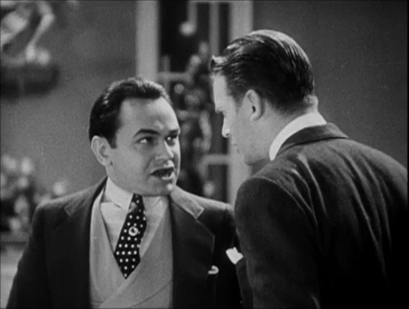 Edward G. Robinson as Little Caesar.