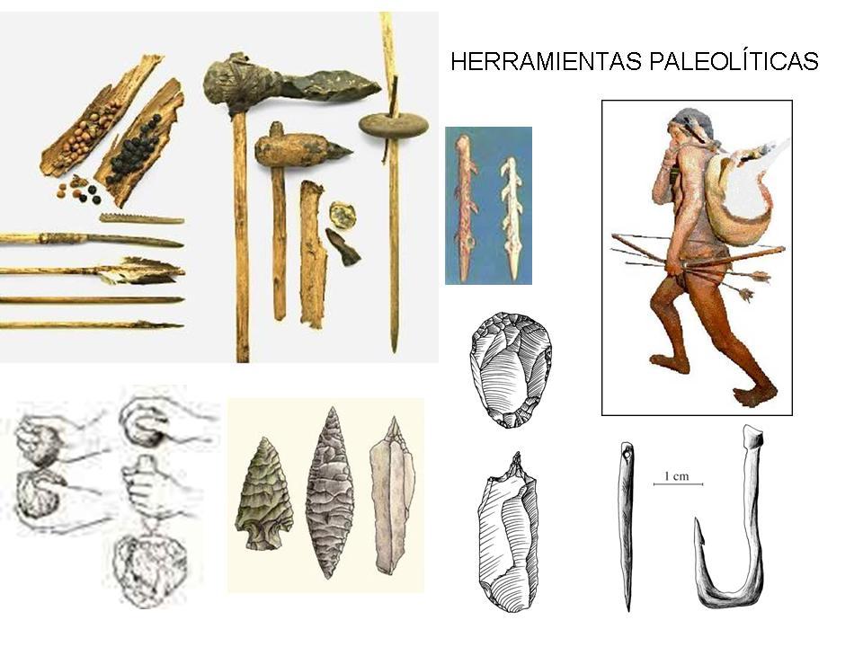La se o eva y sus trece enanitos la prehistoria qu - Herramientas para piedra ...