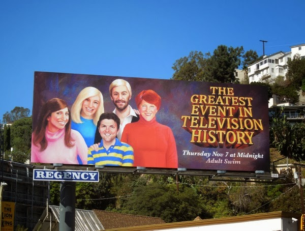 Greatest Event in Television History 3 Adult Swim billboard