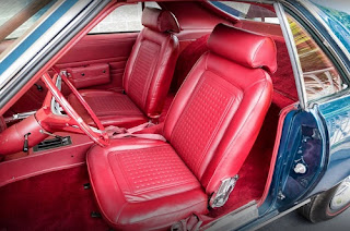 1968 AMC AMX Sports Coupe Seats