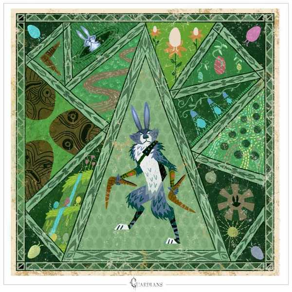 living lines library rise of the guardians 2012