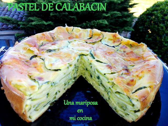 Pastel  De Calabacin