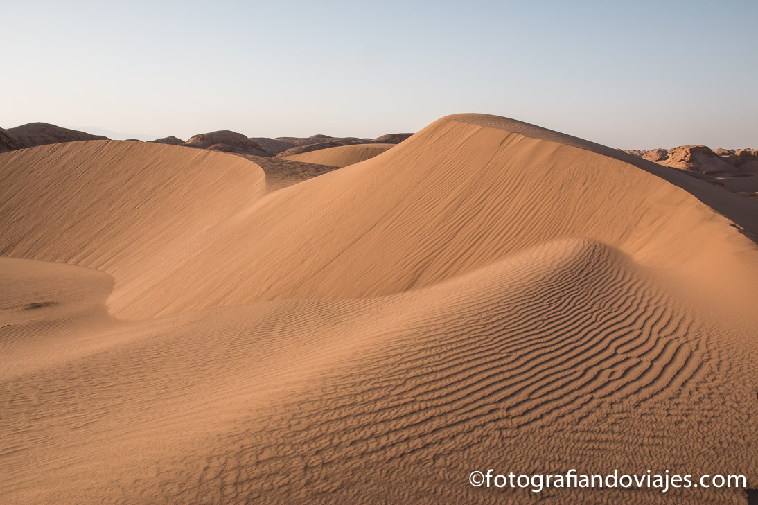 Desierto Lut o Dasht-e Lut en Iran