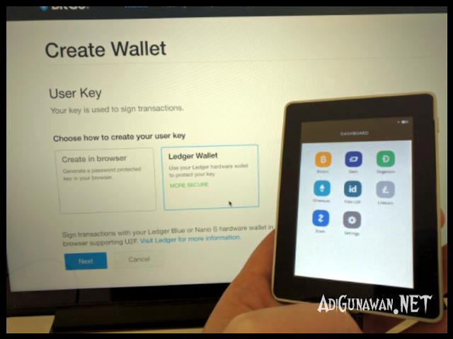 Review Harga dan Spesifikasi Wallet Ledger Blue