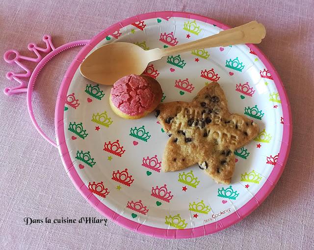 Sablés aux pépites de chocolat - Dans la cuisine d'Hilary