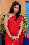 Indian Model Actress Kamalinee Mukherjee Photoshoot In Red Saree