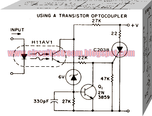 Isolation and 0-V Switching logic Circuit Diagram