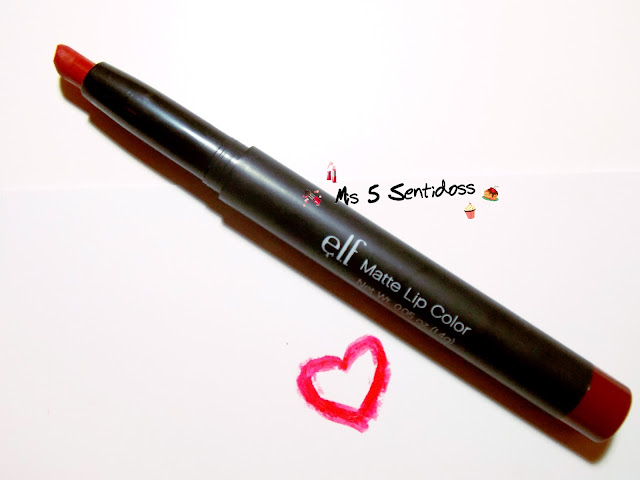 Elf Matte Lip Color Rich Red