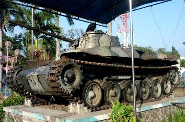 Barang-barang Peninggalan TNI
