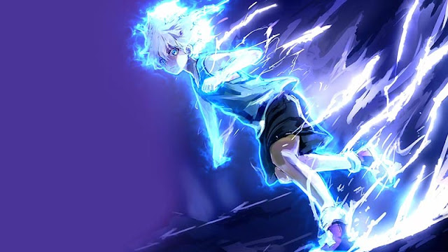 Killua Electric Nen Transmutation Wallpaper Engine ...
