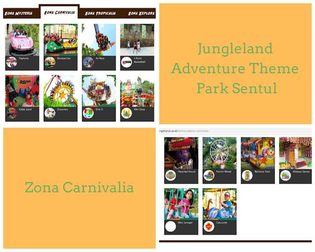 zona carnivalia jungleland adventure theme park sentul