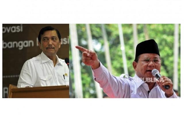 Luhut Bantah Dukung Prabowo dan Makna Pertemuan Itu