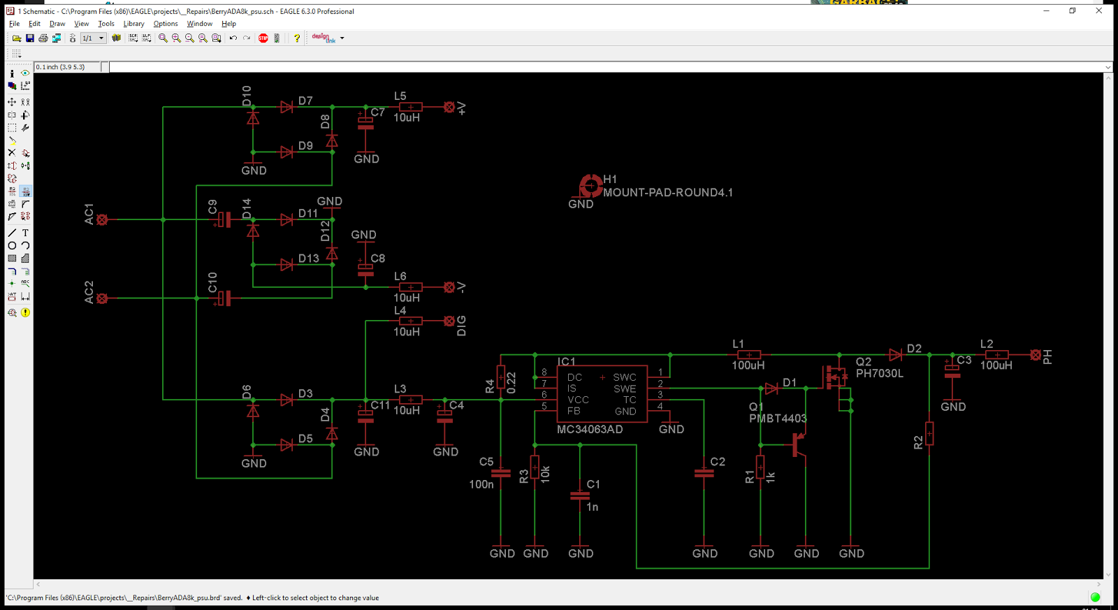 Khrons Cave 25 Behringer Ada8000 Ultragain Digital Revival Converter 6v To 12v Dc Schematic Mc34063 Boost Circuits Psu Sch