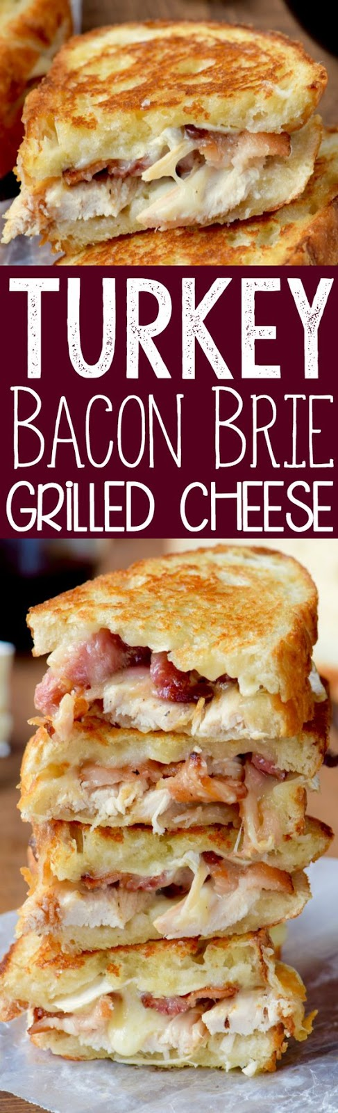 ★★★★☆ 3209 ratings      | TURKEY BACON BRIE GRILLED CHEESE SANDWICH #TURKEY #BACON #BRIE #GRILLED #CHEESE #SANDWICH