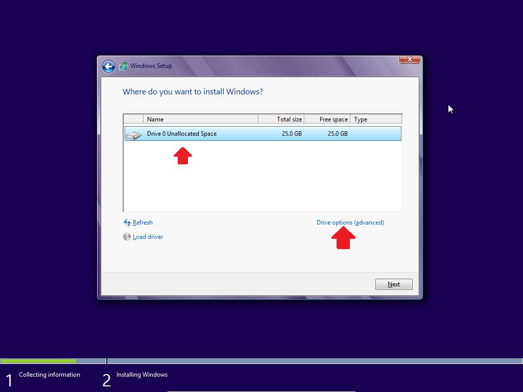 Hướng dẫn cài đặt windows 8 bằng hình ảnh
