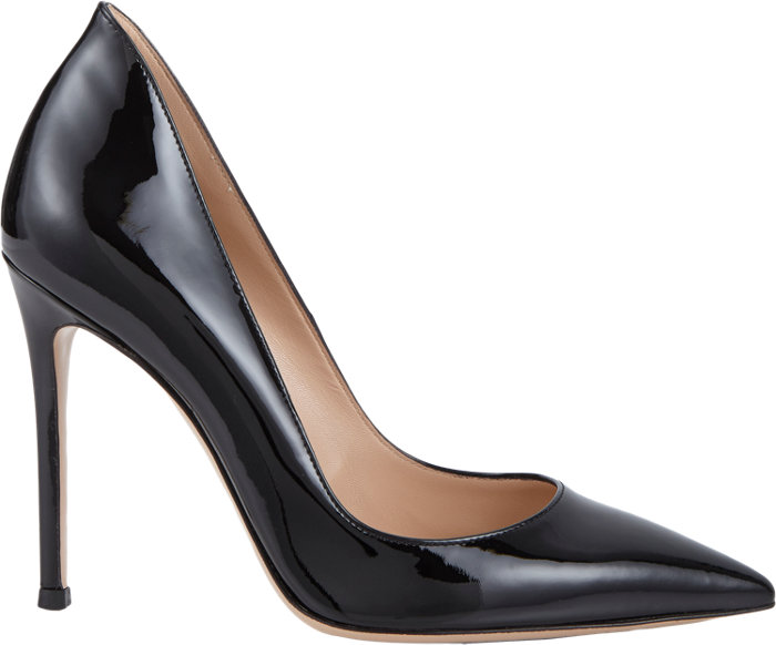 46d71c6d3f4 GIANVITO ROSSI ELLIPSIS BLACK PATENT - Reed Fashion Blog