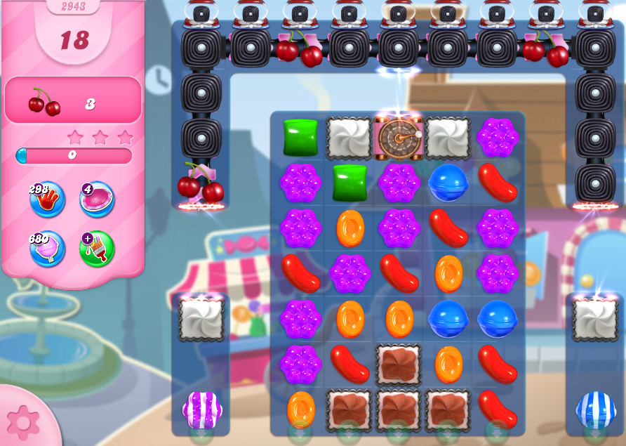 Candy Crush Saga level 2943
