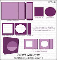 ODBD Custom Diorama with Layers Dies