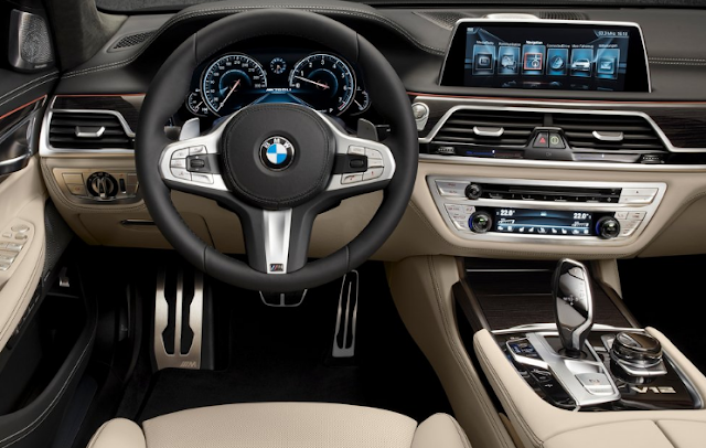 2017 BMW M760Li xDrive Interior