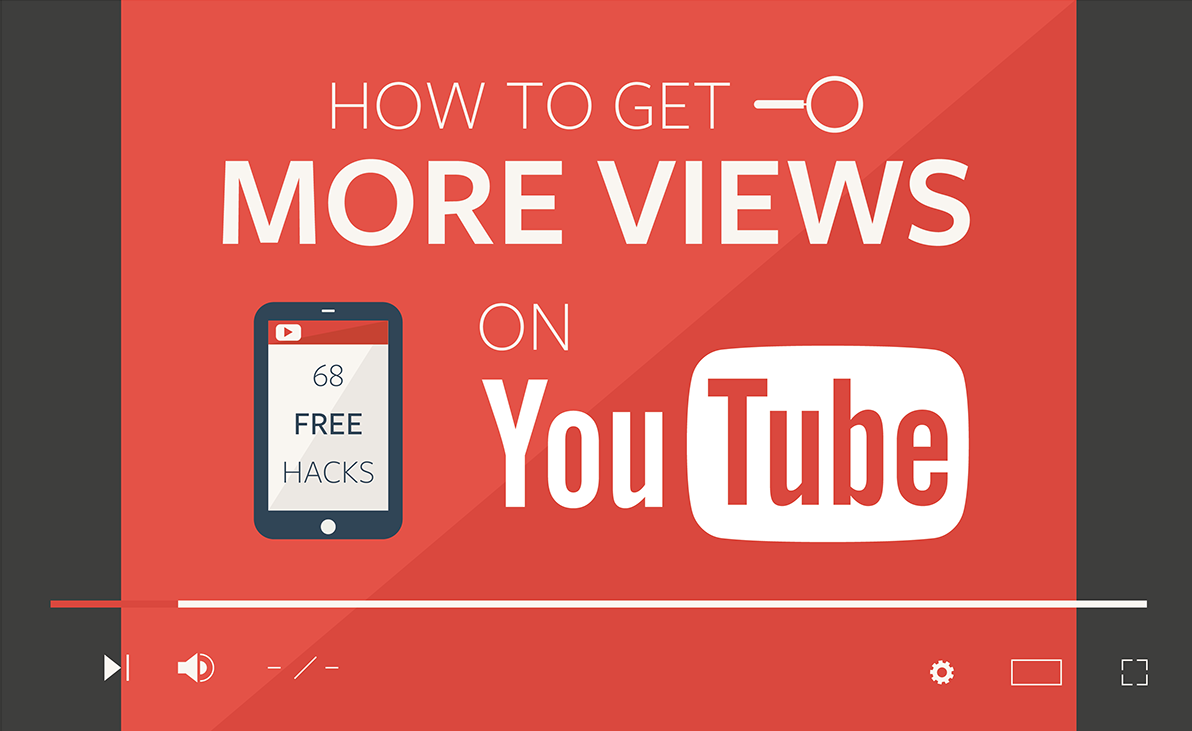 How to get more views on YouTube [68 Free Hacks]