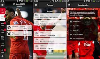 Aplikasi Liverpool Android