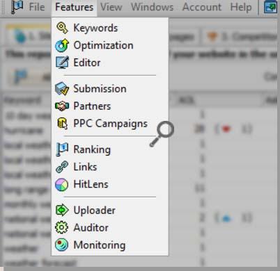 webceo seo tools