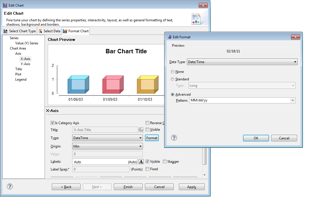 BIRT World: BIRT Formatting numbers and dates