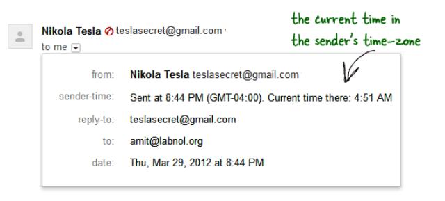 Bagaimana menemukan lokasi pengirim Email di Gmail Anda ?