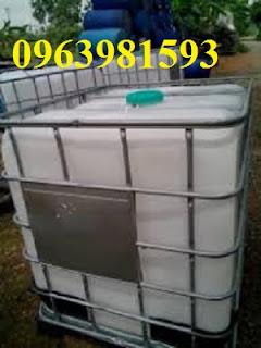 Chuyên cung cấp thùng chứa hóa chất, tank nhựa 1000l, tank IBC giá rẻ