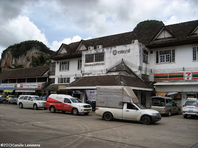 Gas station and rest stop near Phang Nga