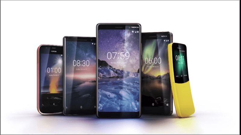 Nokia's MWC 2018 Lineup
