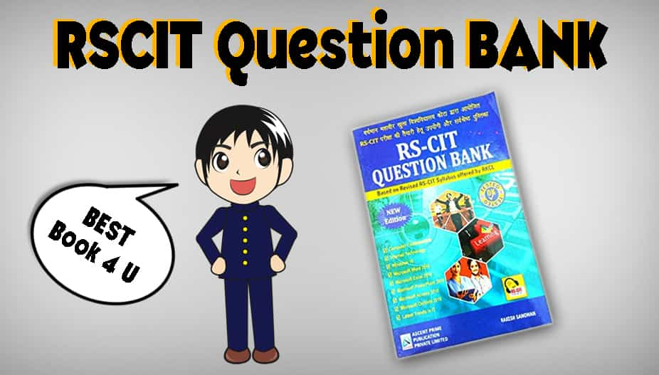 RSCIT Question bank, rscit question bank 2020, rscit question bank in hindi, rscit question bank in english, rkcl question bank,