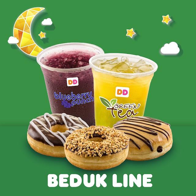 #DunkinDonuts - #Promo Harga Khusus BEDUK LINE 3 Donut & 2 Minuman Hanya 50K (s.d 12 Mei 2019)