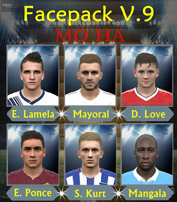 PES 2016 Facepack V.9 by Mo Ha