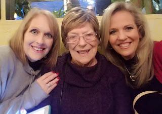 Betty Morton with Susan and Sarah