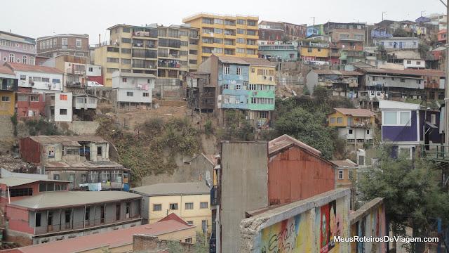 Casas de Valparaíso, Chile