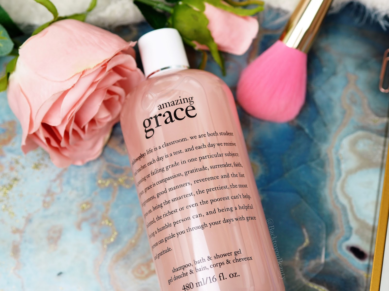 Amazing Grace Shampoo, Bath & Shower Gel 480ml