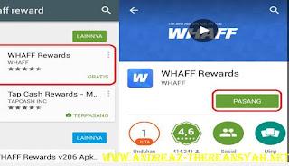 Cara Menghasilkan Uang Lewat Android Dari Aplikasi Whaff Rewards