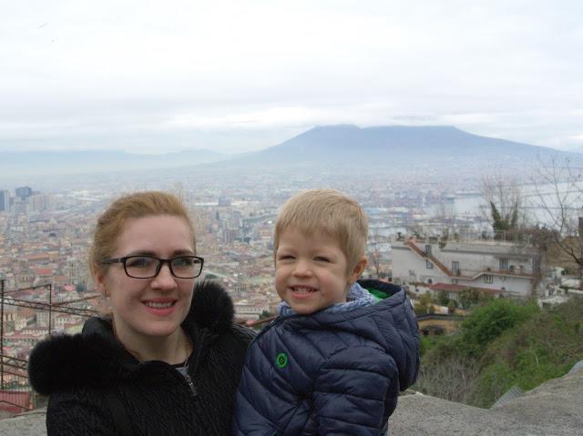 Widok na miasto Neapol