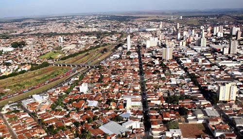 Vista aérea de Araraquara