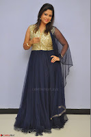Shilpa Chakravarthy anchor and actress in anarkali dress  Exclusive 022.JPG