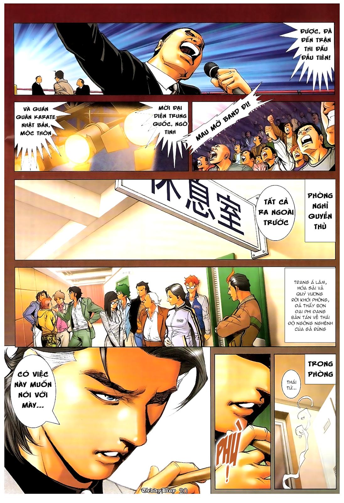 Người Trong Giang Hồ - Chapter 1199: Canh bạc - Pic 17