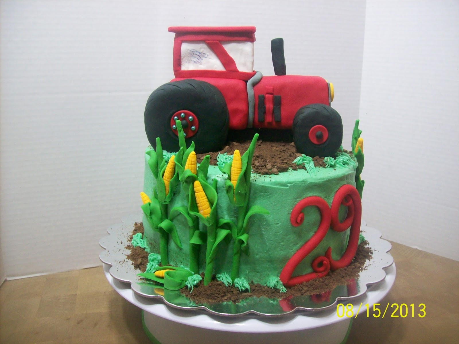 Cakes By Chris International Harvester Tractor Cake