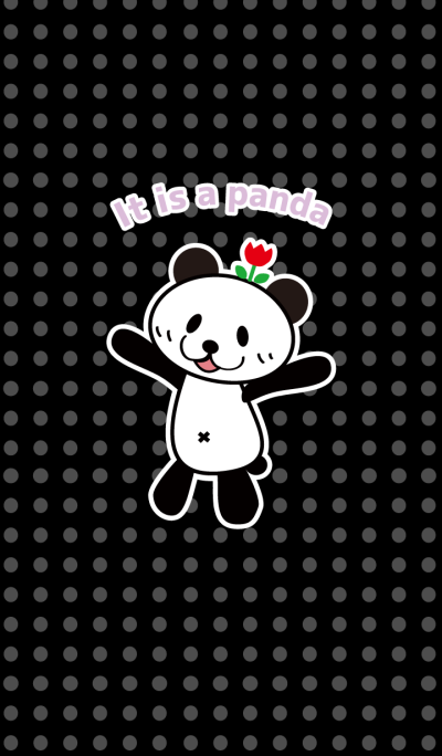 it is a panda
