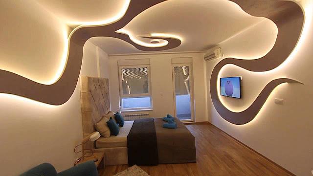 Натяжные потолки Армавир дизайн
