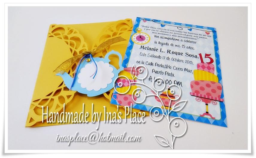 Handmade Invitation Ideas for awesome invitations template