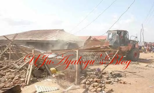 FCT demolishes 500 structures in Abuja, renders many homeless