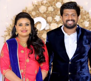 Actress Charutha Baiju Wedding Photos