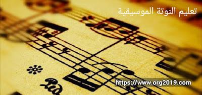 تعليم نوتة موسيقية بالحروف سماعي حلوة يا بلدي كاملة على نوتاتي فقط