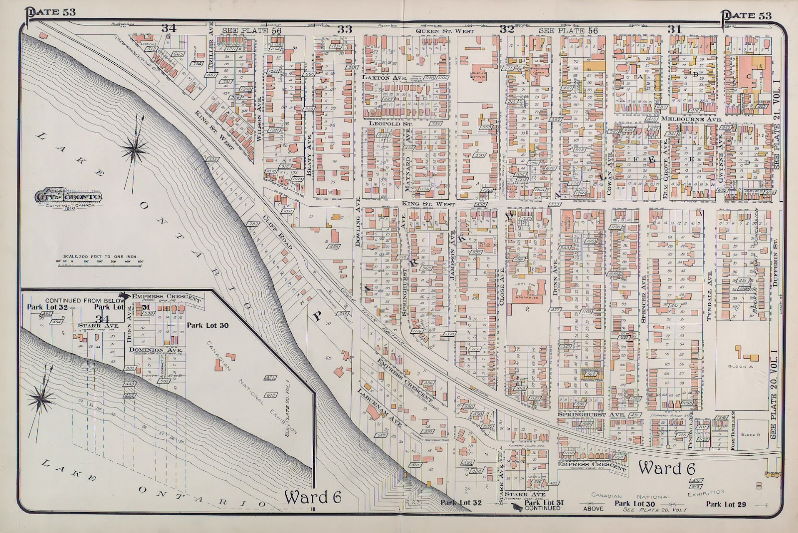 Maps: Lost Toronto: Old Parkdale Maps